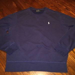 POLO Ralph Lauren L Crewneck Sweater Shirt Navy